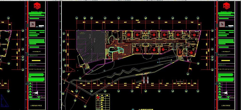 室内设计 cad图库 餐厅饮食cad施工图 > 会所水电系统图详图  下一张&