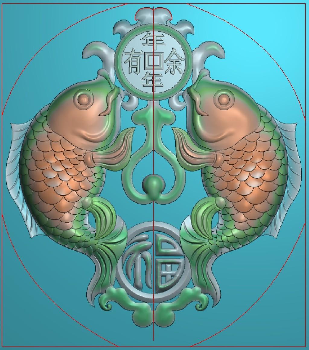 浮雕图玉雕古玩文玩雕刻图双鱼图片下载 浮雕图 玉雕 古玩 文玩 雕刻