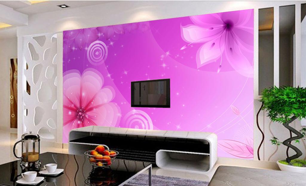 客厅背景墙花客厅沙发背景墙墙画图片2
