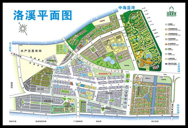 平面设计 地图 其他地图 > 洛溪新城地图  下一张> [版权
