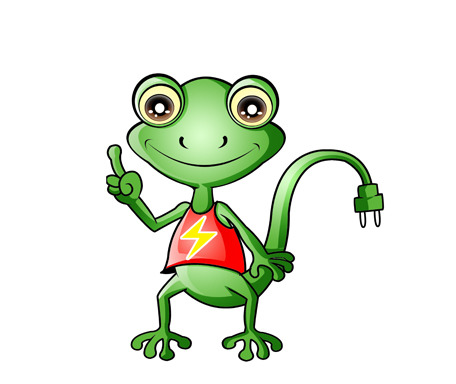 卡通壁虎形象设计图片下载卡通壁虎 绿色壁虎 可爱壁虎 小壁虎卡通