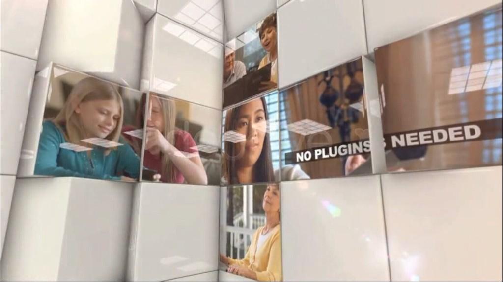 企业商务视频图片展示ae模板