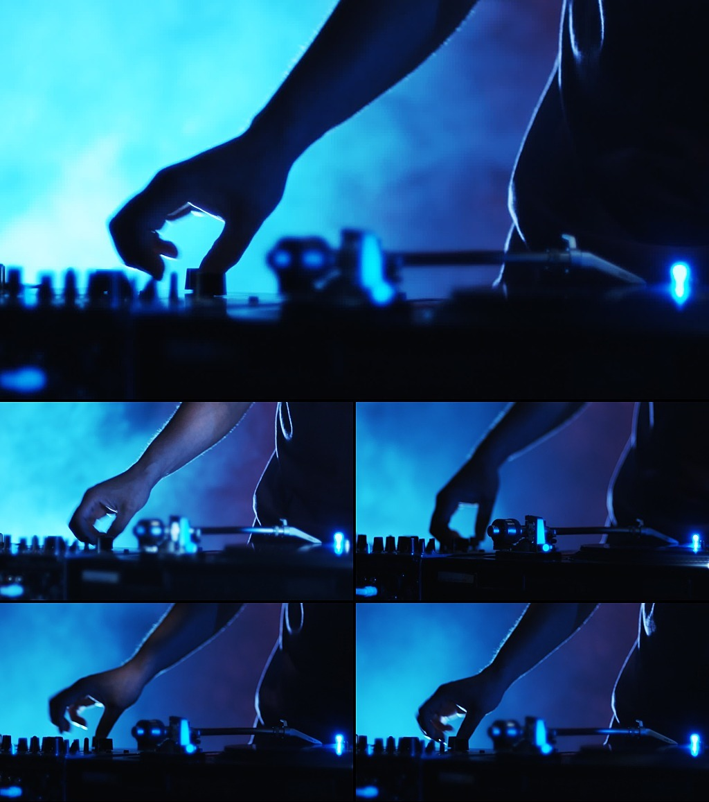 实拍打碟模板下载 实拍打碟图片下载 dj打碟视频
