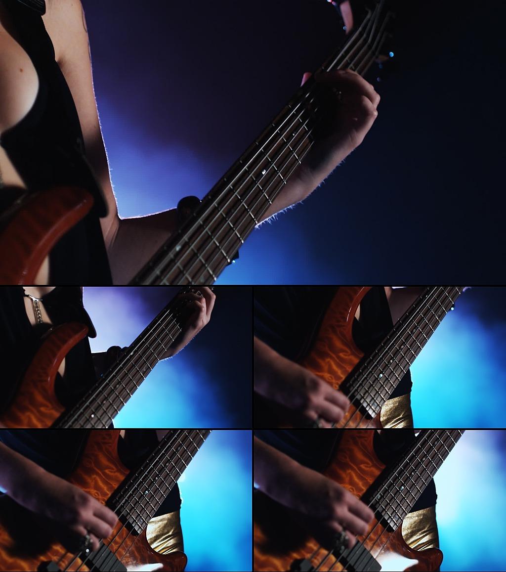 美女弹吉他模板下载 美女弹吉他图片下载