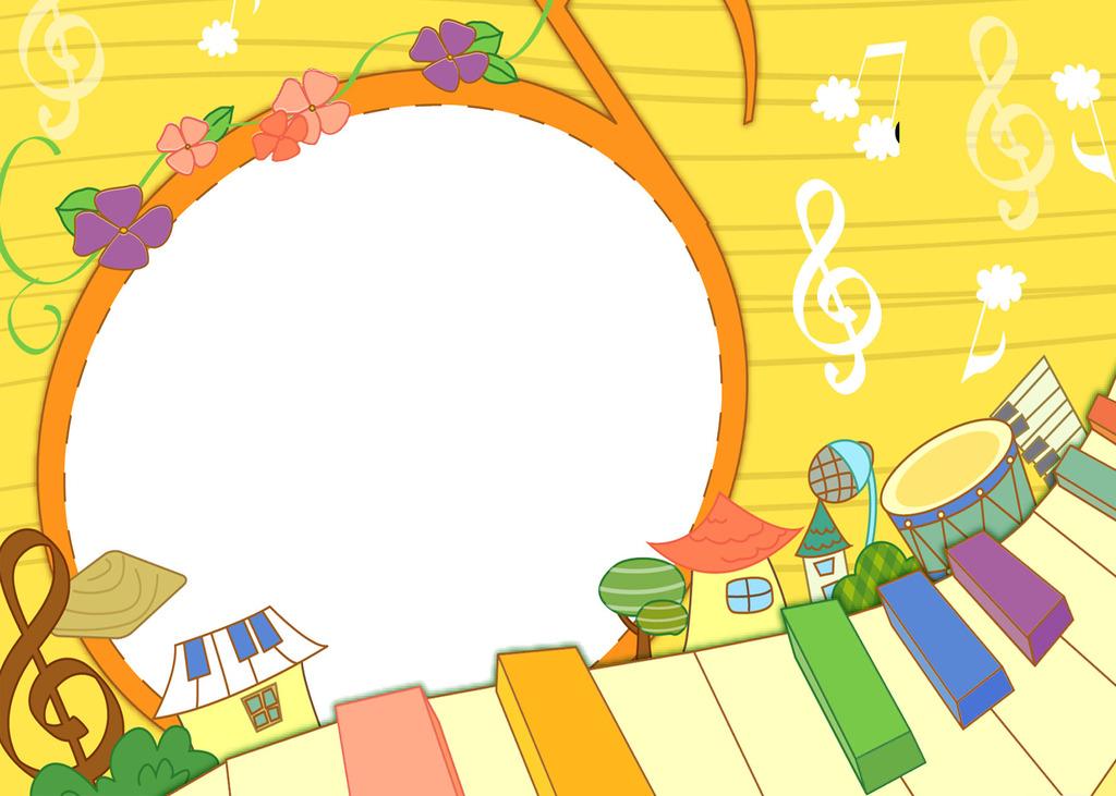 儿童照片模板设计钢琴模板下载 儿童照片模板设计钢琴图片下载