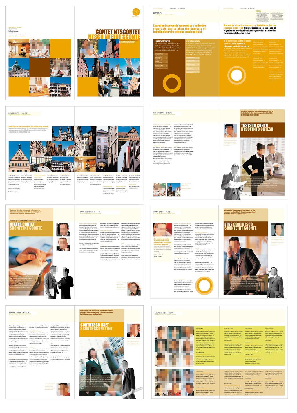 企业简介 国外画册 版式设计 画册设计 时尚画册 招商手册 排版 画册图片