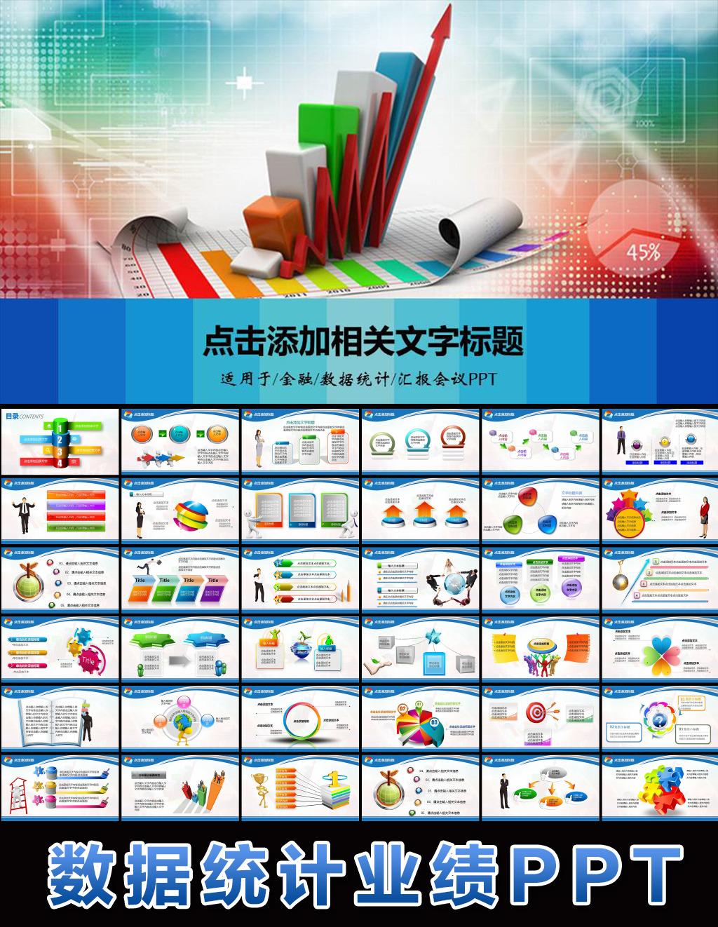财务报告数据分析调研报告ppt模板