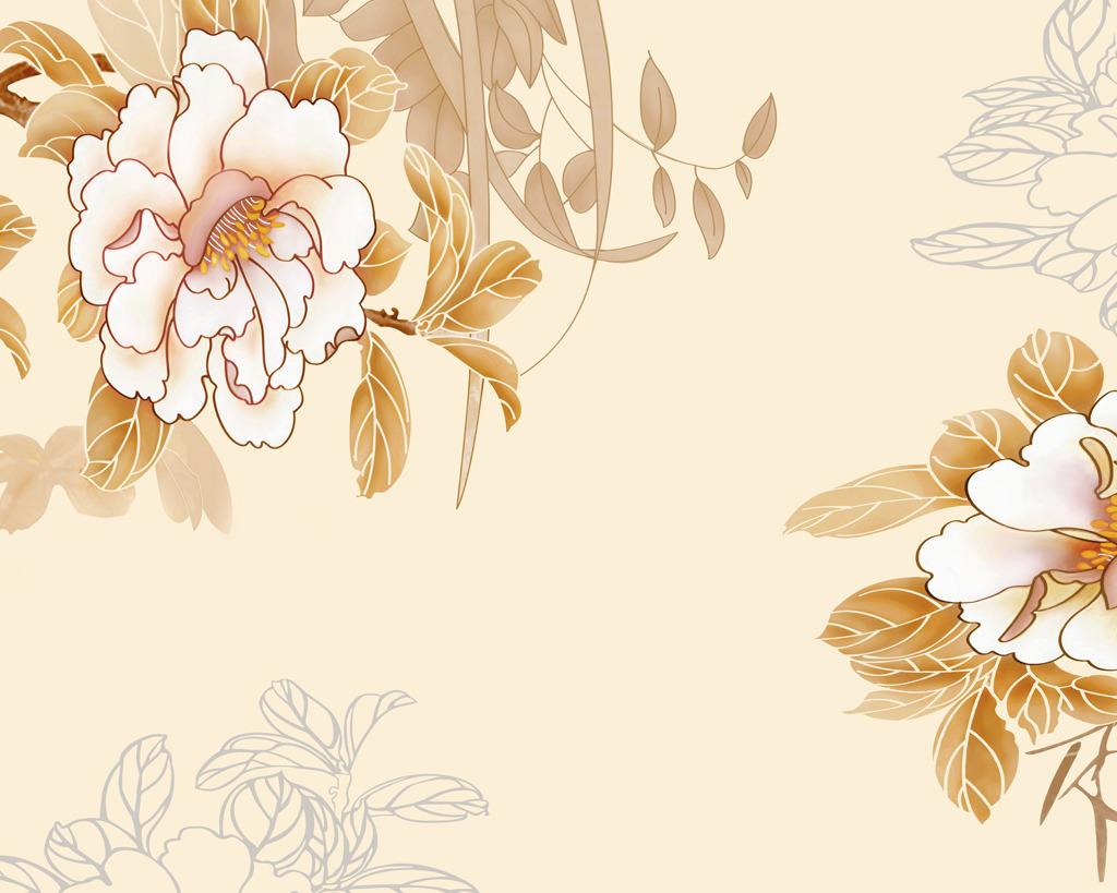 背景墙|装饰画 其他 背景墙 > 白牡丹电视背景墙牡丹国色牡丹壁纸中式图片