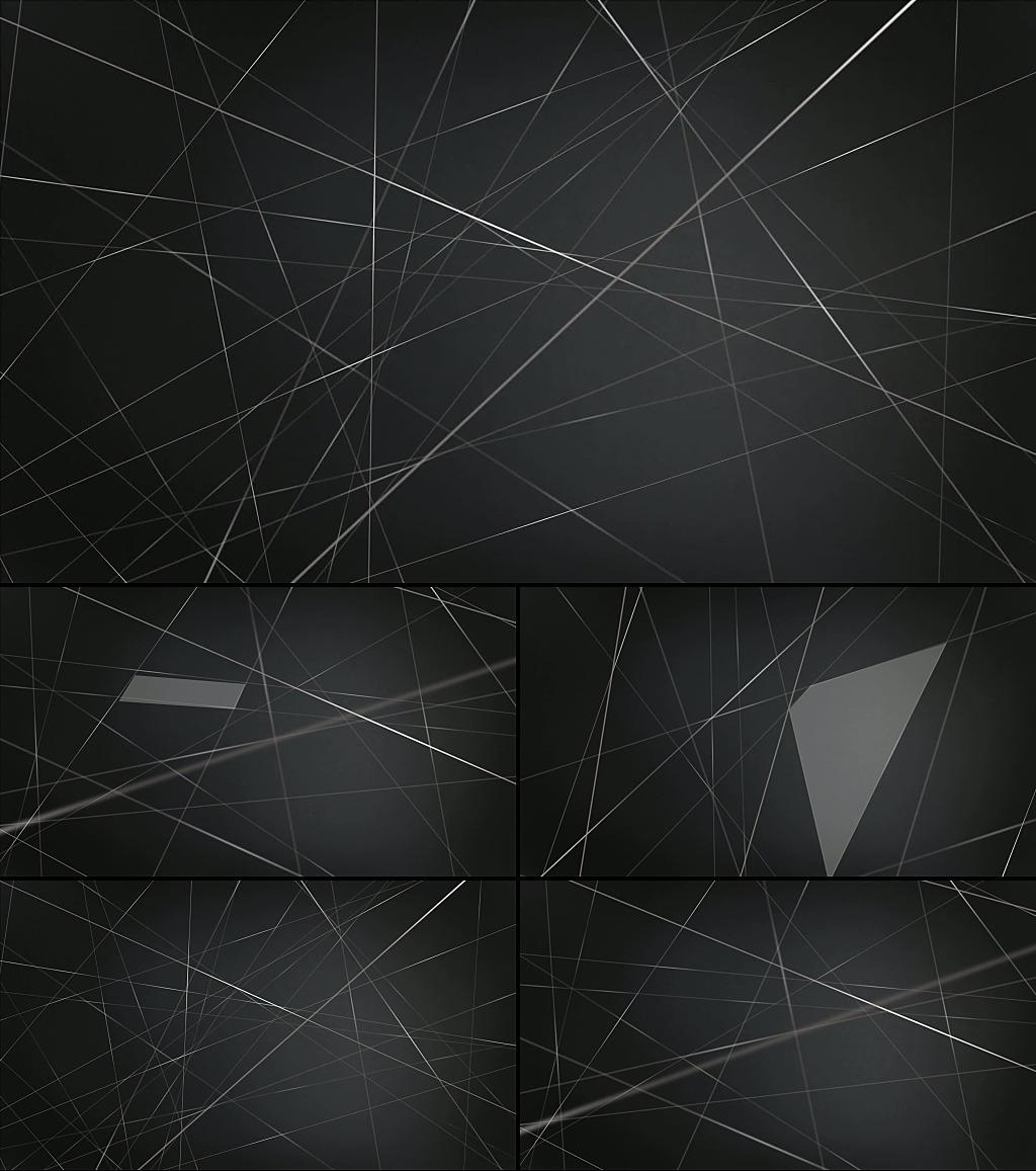 空间横线素材_