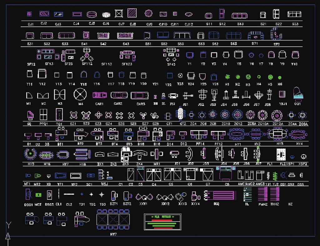 cad素材下载模板下载(图片编号:12419887)
