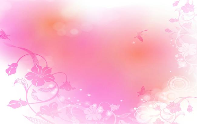 粉色花纹背景高清图片