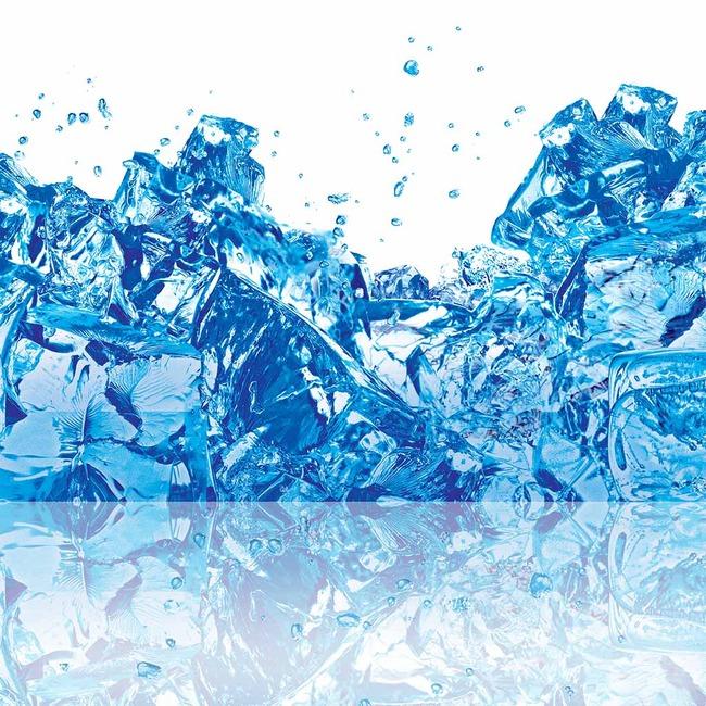 液态 蓝冰 樱桃 冰水 人物装饰画抽象装饰画风景装饰画客厅装饰画黑白