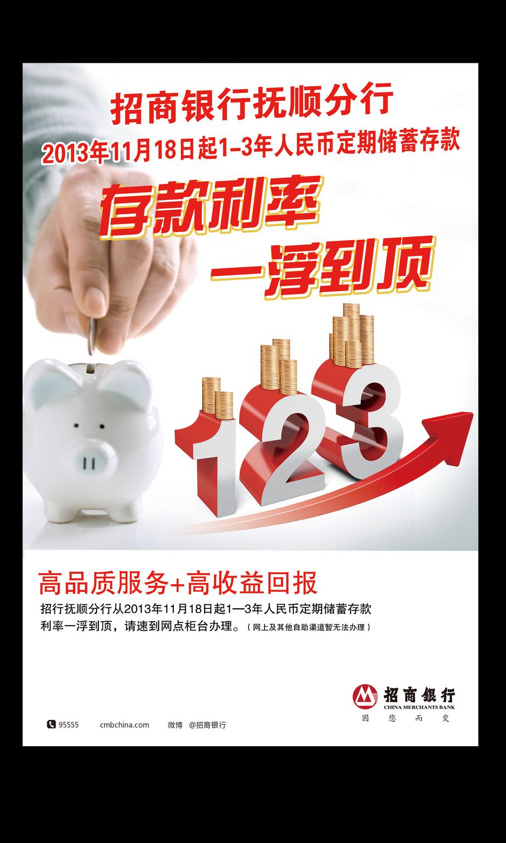 招商银行海报设计