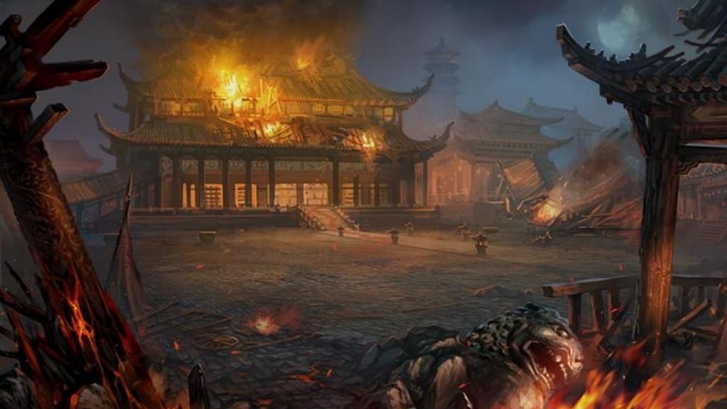 古代场景游戏动画图片下载 古代 古风 战争 战场 立绘 游戏动画