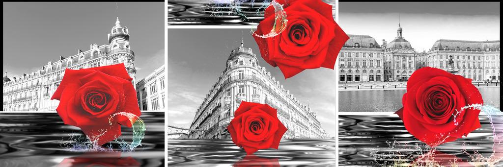 玫瑰欧式风格装饰画高清图片下载(图片编号12449582)