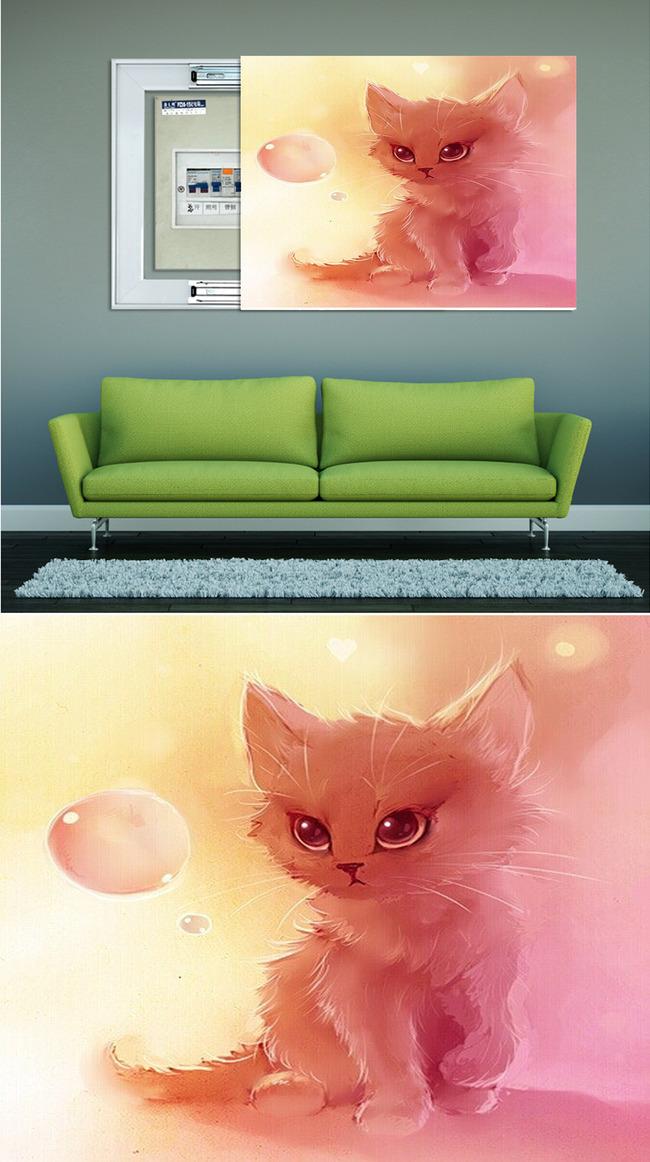 """【本作品下载内容为:""""生动3D可爱猫咪油画艺术电箱装饰画""""模板,其他内容仅为参考,如需印刷成实物请先认真校稿,避免造成不必要的经济损失。】 【注意】作品授权不包含作品中使用到的字体和摄影图,下载作品后请自行替换。 【声明】未经权利人许可,任何人不得随意使用本网站的原创作品(含预览图),否则将按照我国著作权法的相关规定被要求承担最高达50万元人民币的赔偿责任。所有作品均是用户自行上传分享并拥有版权或使用权,仅供网友学习交流,未经上传用户授权,请勿作他用。"""