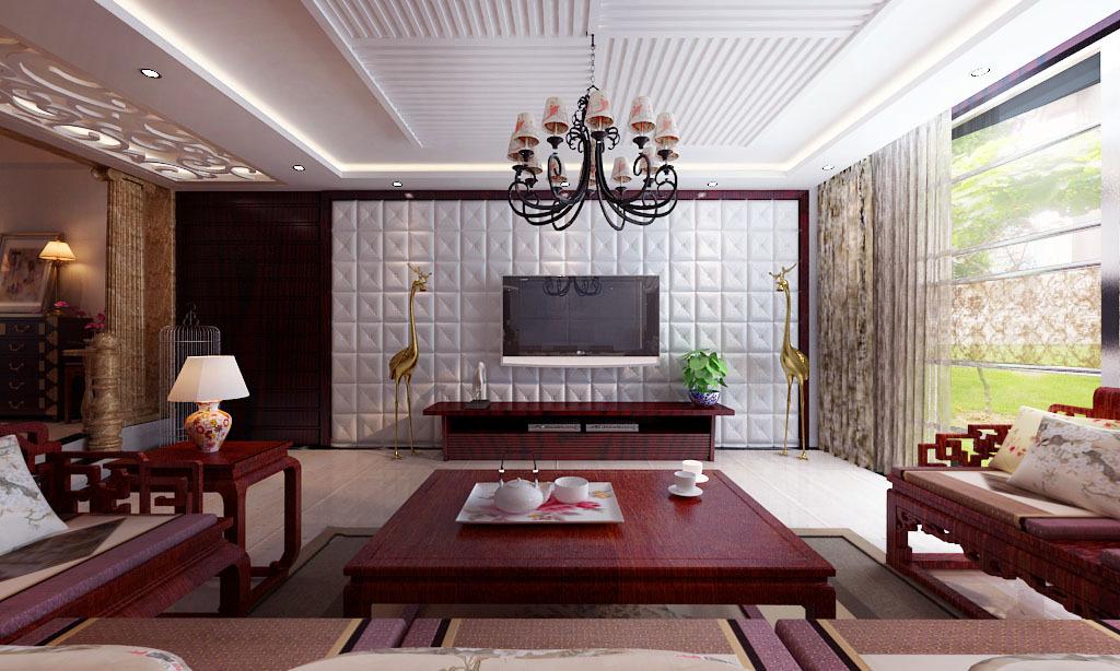 手绘新中式家具快题设计