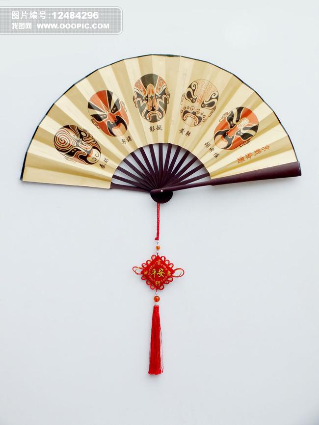 扇子图片图片下载 纸扇 扇面 脸谱 中国结 元素 中国元素 扇子