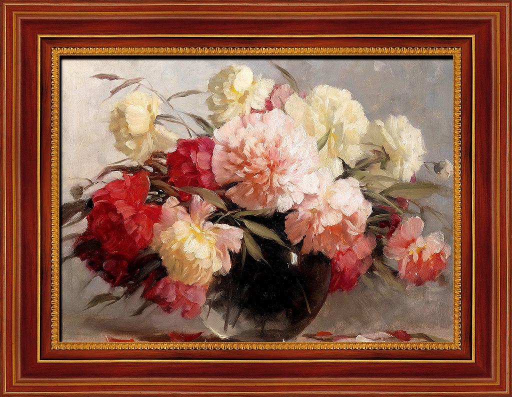 欧式静物花卉油画高清图片下载(图片编号12488510)图片