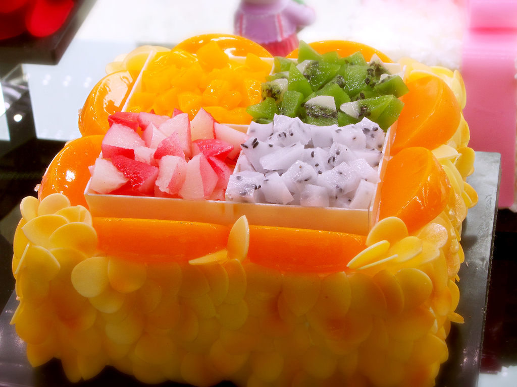 水果蛋糕新鲜模板下载图片