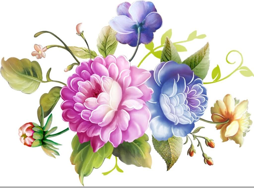 陶瓷玫瑰花花盆花面