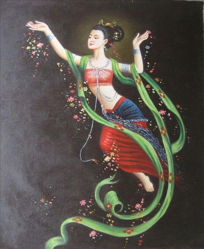 壁画的象征答:您好,我是旅游包车姜师傅,敦煌飞天是敦煌莫高窟的名片图片
