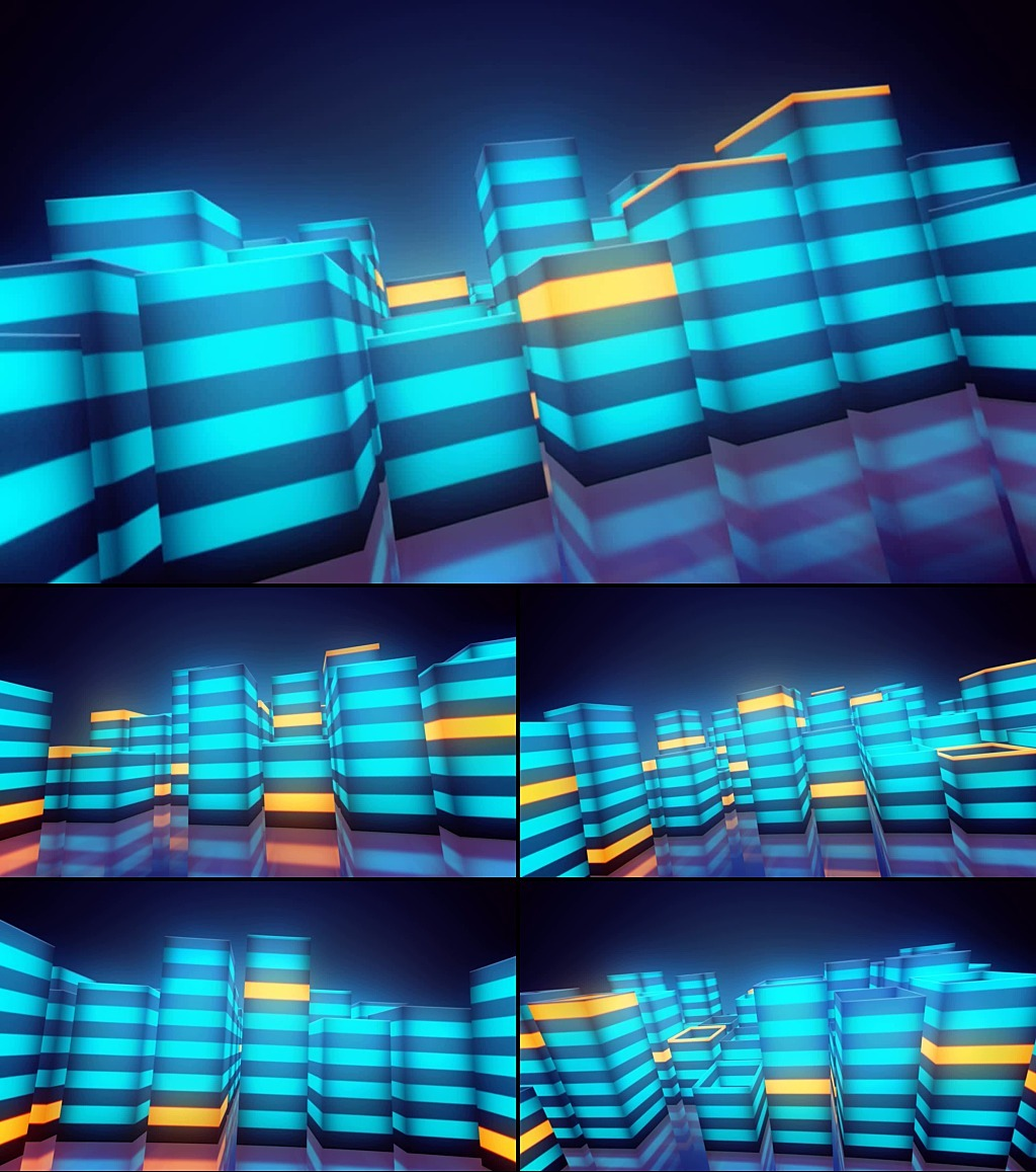 led节奏感舞蹈歌曲背景视频图片
