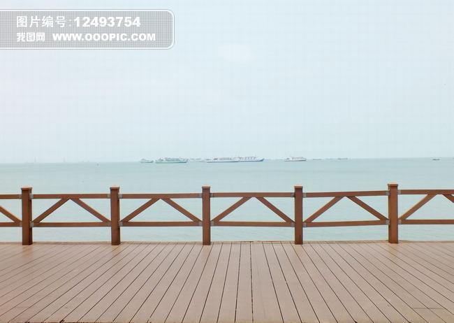 海边栏杆图片模板下载 海边栏杆图片图片下载 海边 木地板 地板 大海