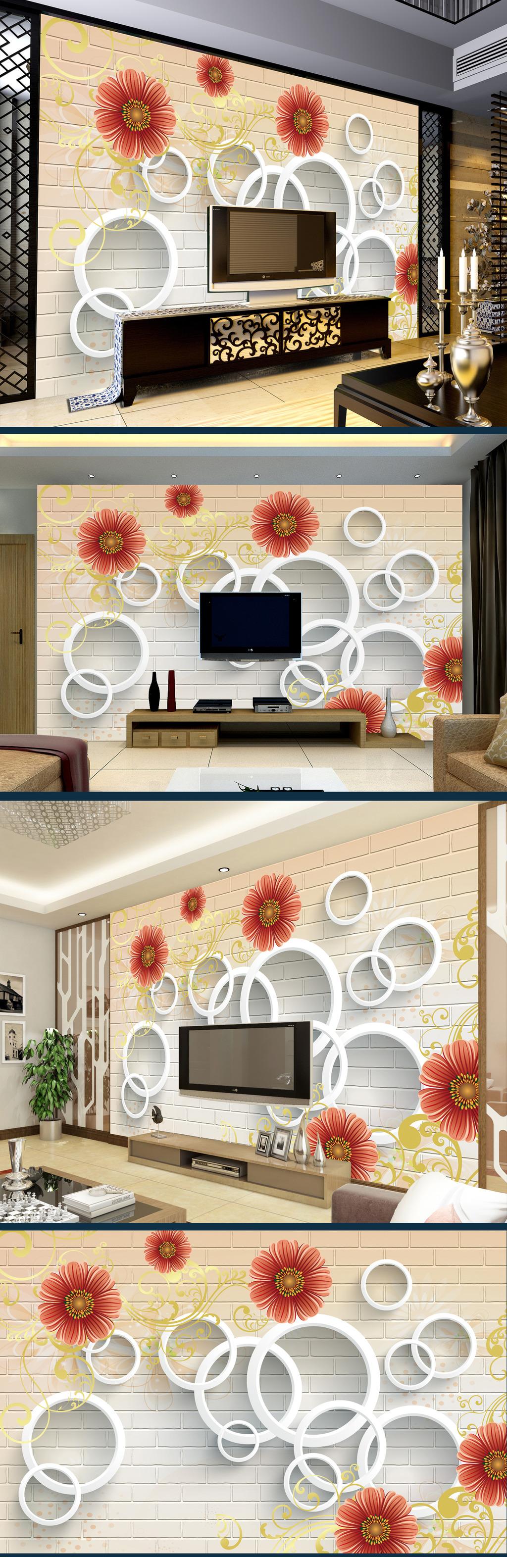 手绘酒店长廊壁画