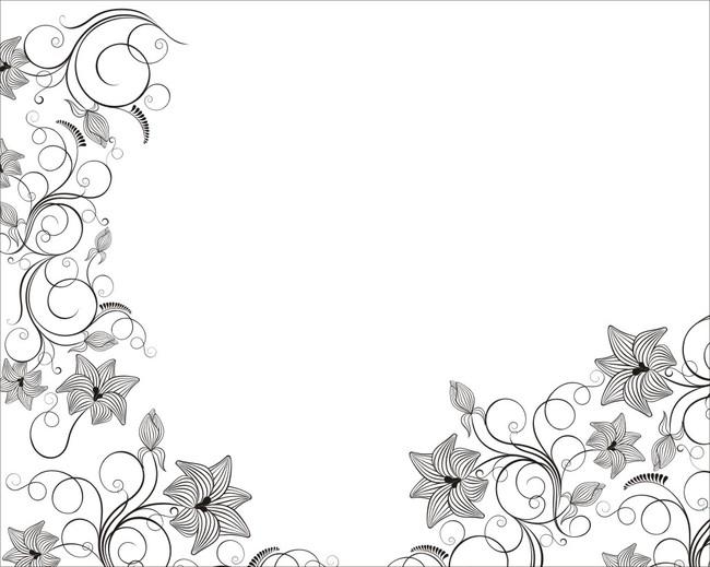 简约 欧式 时尚 彩雕背景墙 壁画 洛可可 罗拉 花蔓 花 叶子 花边