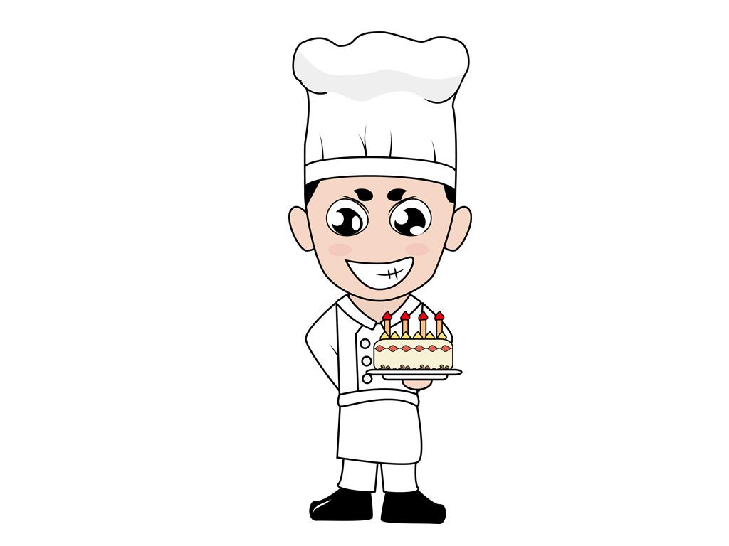 美味 卡通厨师