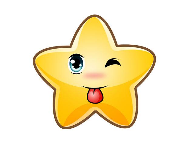 星星卡通形象设计