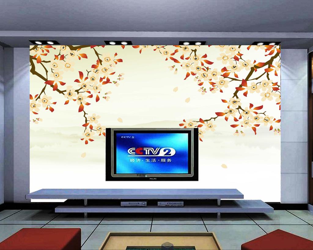 壁画壁纸背景墙电视背景墙艺术玻璃