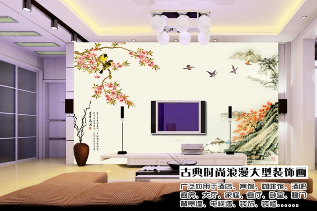 3d电视背景墙