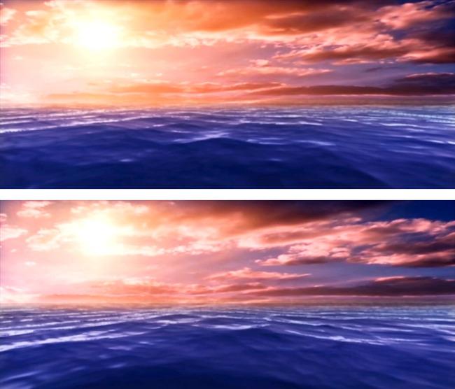 海阔天空希望励志类led视频素材图片