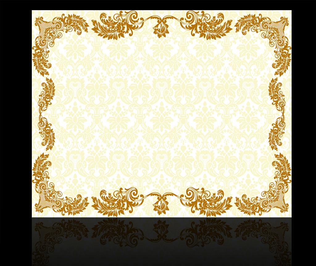 欧式花纹背景墙高清图片下载(图片编号12537576)欧式