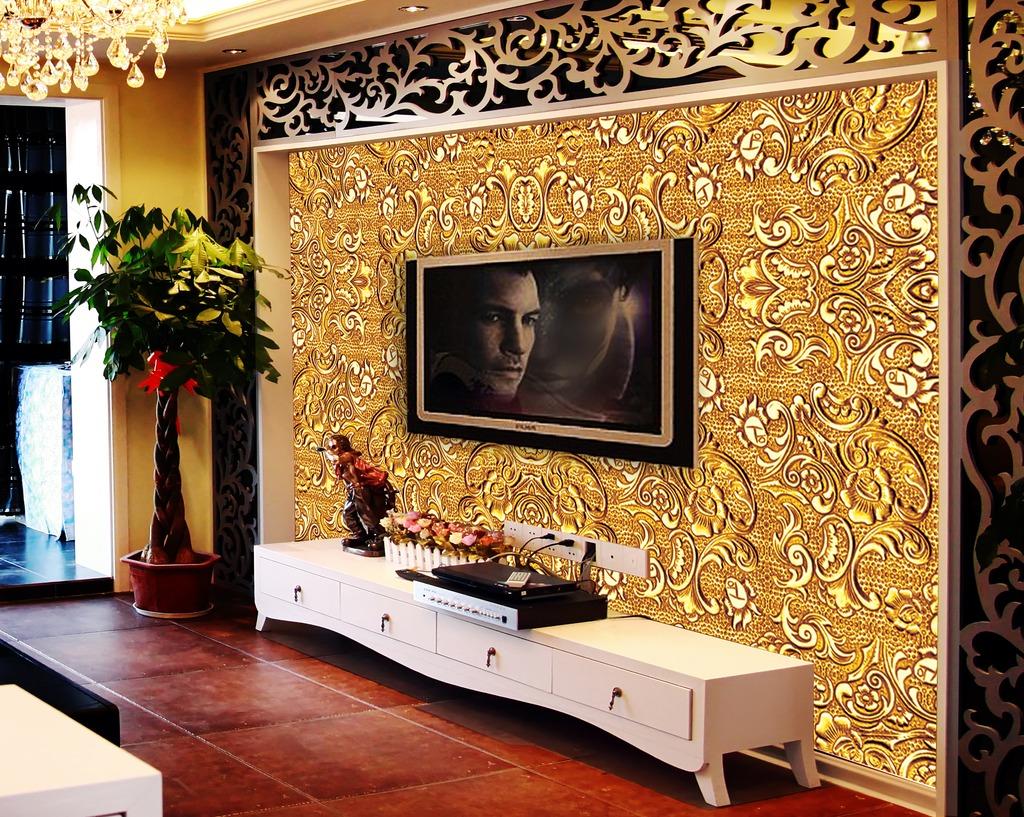高清立体欧式背景墙装饰画