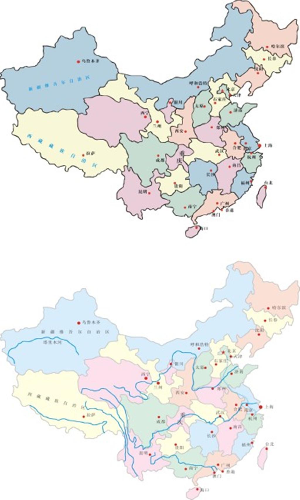 中国地图下载