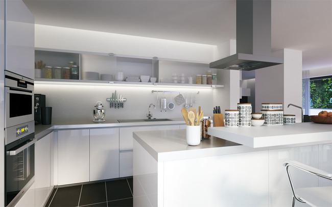 室内设计 效果图 家装效果图 > 小厨房装修效果图  下一张&gt