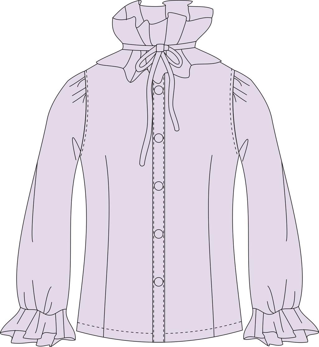 时尚休闲女士长袖衬衫