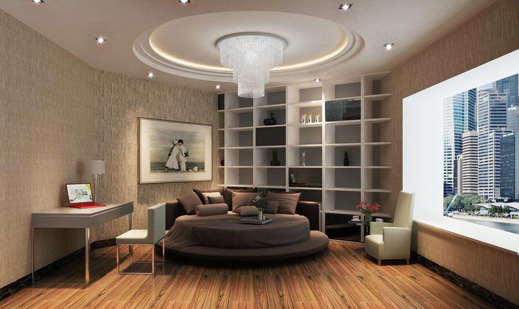 卧室室内设计效果图