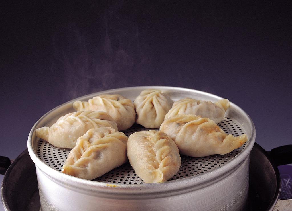 韩式蒸饺韩式包子韩式饺子水饺蒸饺