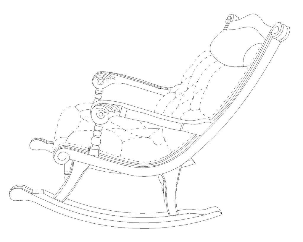 椅子创意设计手绘