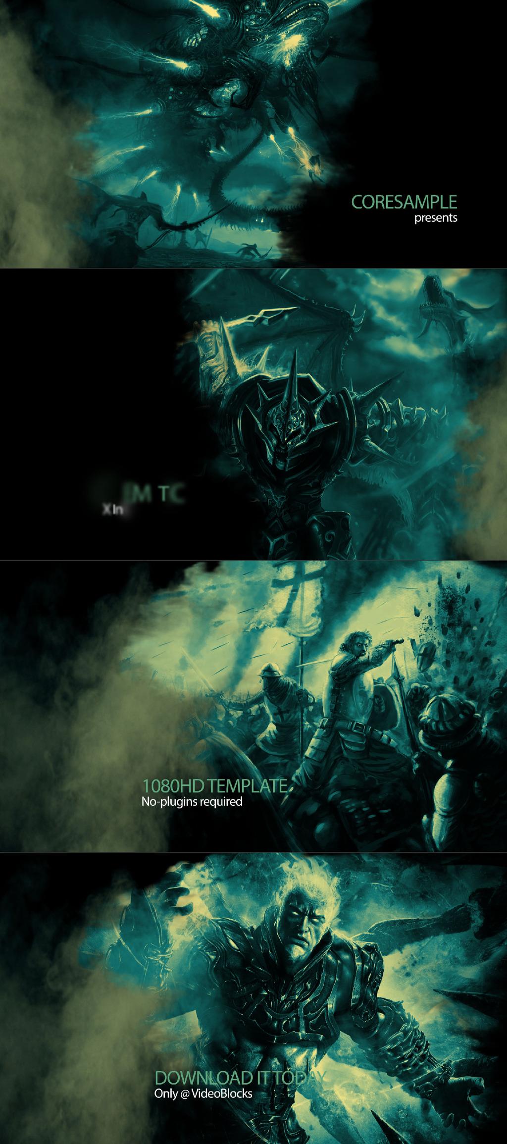 游戏恐怖幽灵烟雾宣传展示
