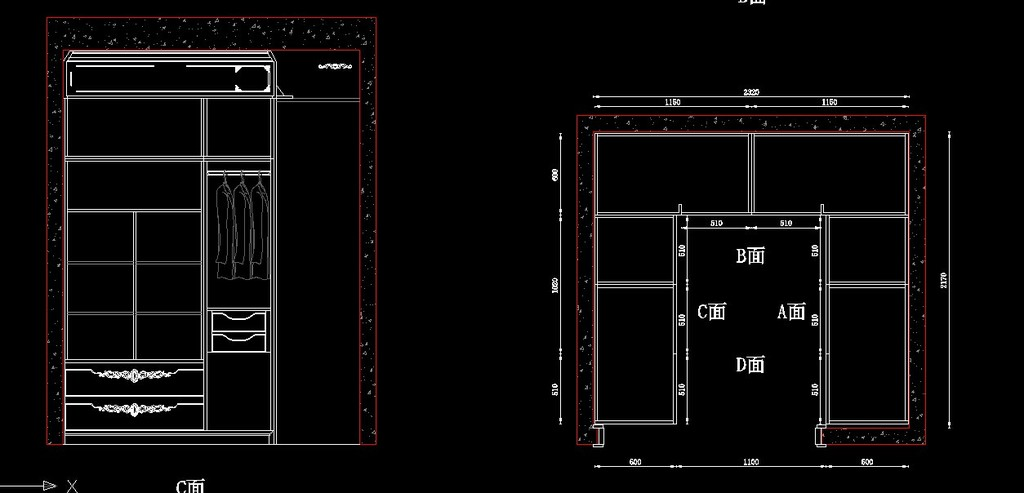最新实木移门衣柜设计图整套模板下载 最新实木移门衣柜设计图整套图片下载实木衣柜 衣帽间设计 室内衣柜 衣柜设计 原木衣柜 板式衣柜 组装衣柜 复合衣柜 雕花衣柜 欧式衣柜 衣柜图集 衣柜图库 cad衣柜 CAD立面图 CAD柜体
