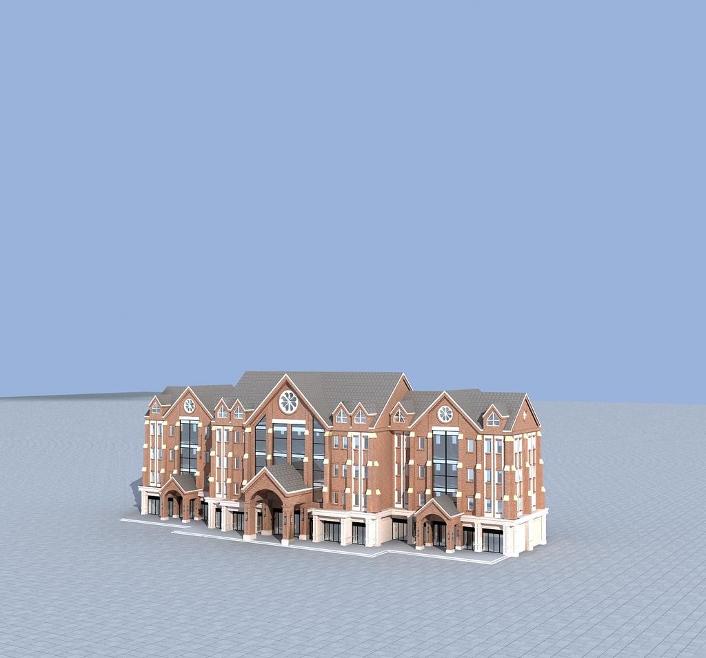 3d商业模板下载 3d商业图片下载 3d商业 英伦风格建筑