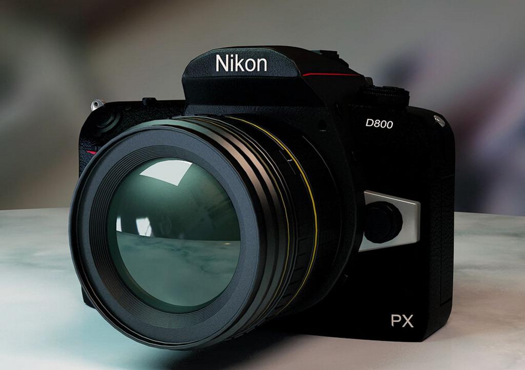 尼康d800模型