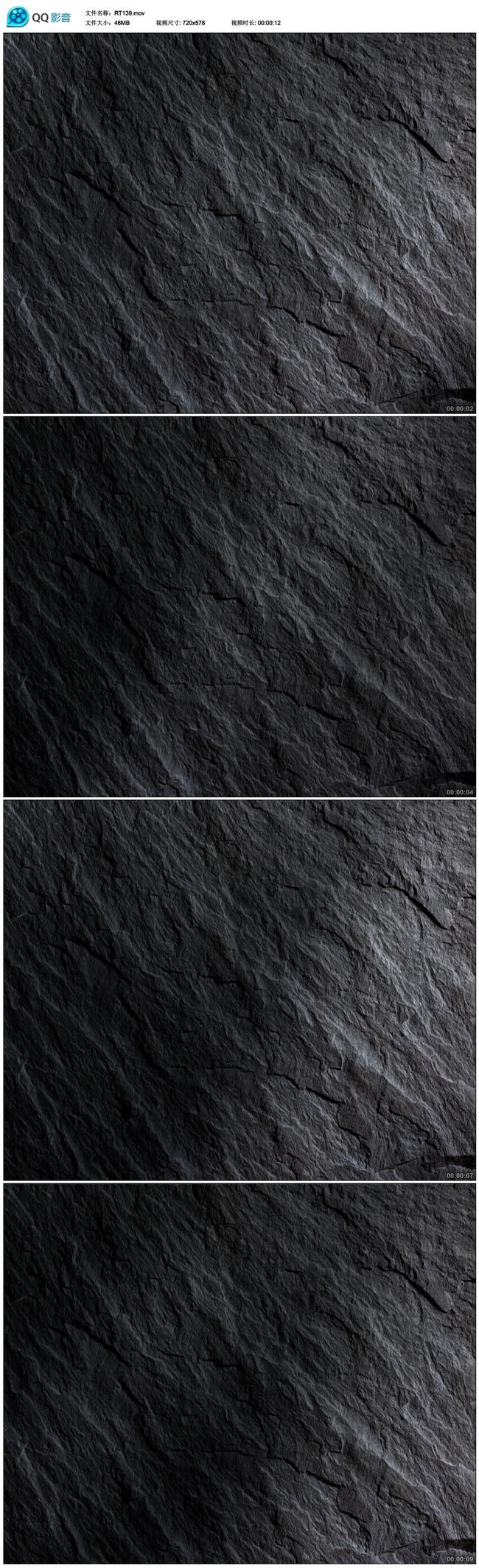 动态黑色大理石瓷砖木纹变幻背景视频
