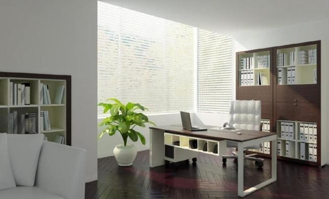 办公室场景模型图