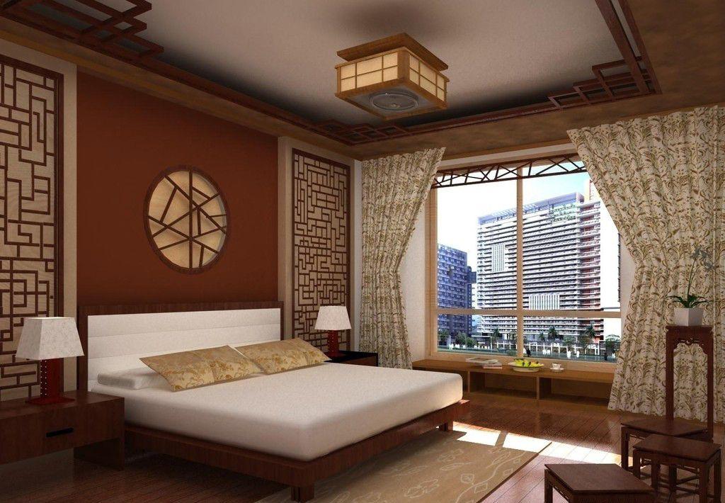 豪华中式古典卧室装修效果图图片